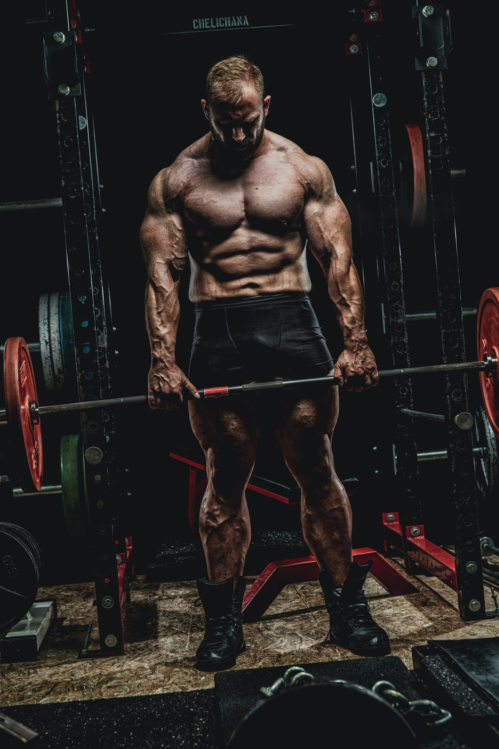man in steroids for sale carrying weights